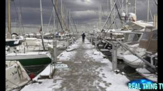 Snow in SPAIN: Heaviest snowfall for 35 YEARS hits beaches and coastal resorts