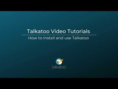 How to Install and Use Talkatoo