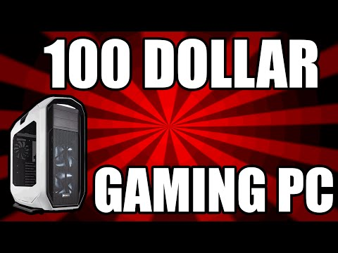 Best 100 Dollar Gaming PC Build March 2016 - RIP Consoles (Plays Some Games)