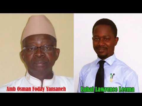 Sierra Leone Parliament With Lahai Lawrence Leema And Amb Osman Yansaneh