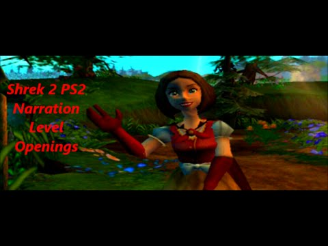 Shrek 2 Ps2 Narration Level Openings Youtube