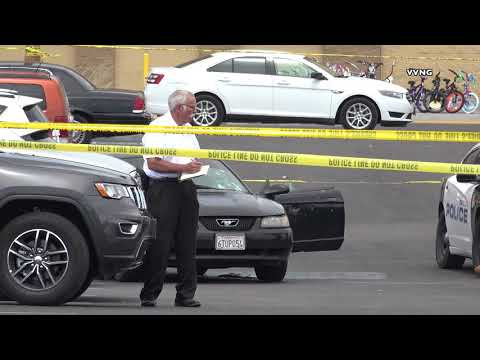 Officer involved shooting in barstow, 2 people shot