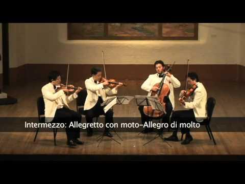 Mendelssohn: String Quartet No. 2 in A Minor, Op. 13 - Shanghai Quartet