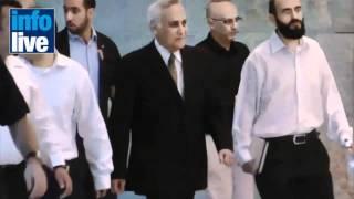 Моше Кацав вышел из тюрьмы на свадьбу