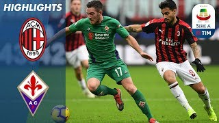 Milan 0-1 Fiorentina | Chiesa Solo Effort Makes the Difference in Milan | Serie A