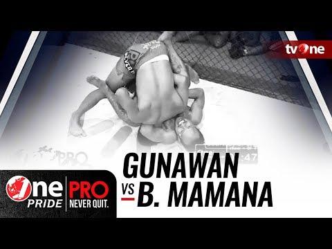 [HD] Gunawan vs Brando Mamana - One Pride Pro Never Quit #21