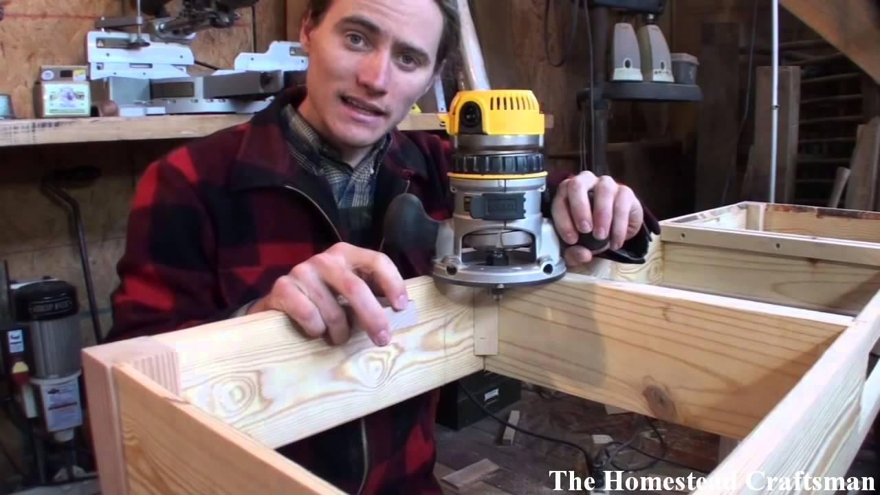 How to Attach a Table Top - YouTube