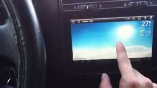 E36 with an HTC tablet