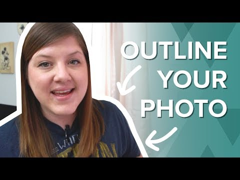 How To Outline A Picture For Thumbnails