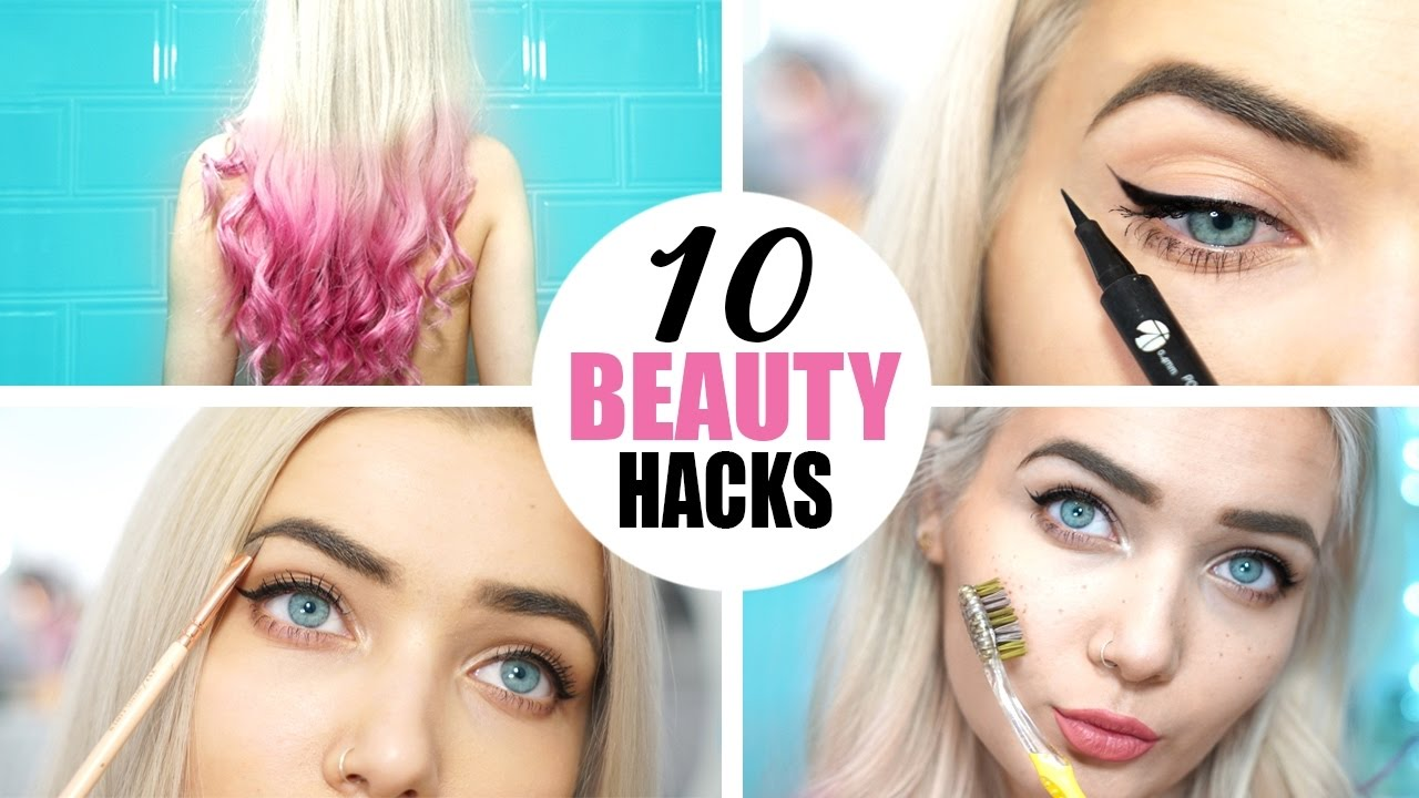 10 Simple & Easy BEAUTY HACKS Every Girl Should Know