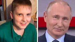 """Школьник """"обманул"""" Путина - папин плов лучше!"""