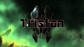 EVE Online solo PVP | Kite Tristan  #1
