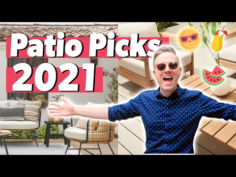 Best Outdoor Patio Items for 2021   Give Your Patio a Makeover!