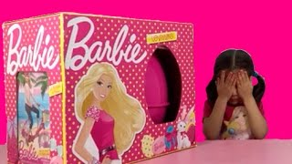 New Real Barbie Giant Surprise Egg!!
