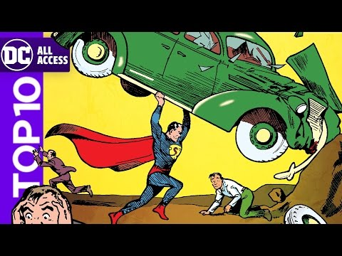 Top 10 Action Comics Issues of All Time