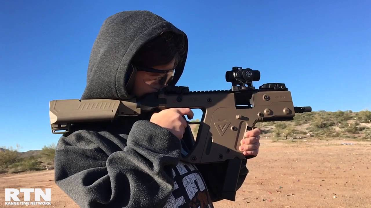 Kriss Vector 9mm Testing with 3 lug adapter
