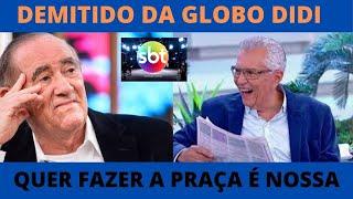 RENATO ARAGÃO QUER FAZER A PRAÇA É NOSSA NO SBT