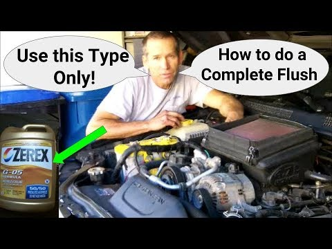 Flush Coolant on a 99-04 Jeep Grand Cherokee