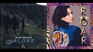Download Roar / Alone - Katy Perry, Alan Walker Mp3