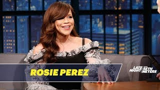 Rosie Perez Was Taught Baseball By Nuns