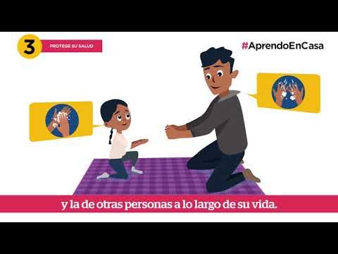 Aprendo en casa. ¿Cómo hablar sobre el COVID-19 con los niños y niñas?