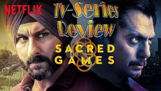 Sacred Games | Hindi TV Series Review | Nawazuddin Siddiqui , Saif Ali Khan , Radhika Apte |