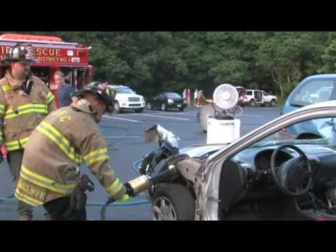 Basic Extrication Drill at the Union Fire Company, Titusville, NJ