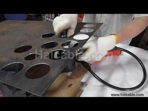 """SKP-15 hydraulic hole puncher, hole digger max 2"""" metal sheet puncher"""