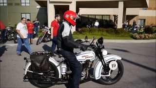 Motorcycle Cannonball Run 2014-09-09 Start, Clarksville, Tennessee