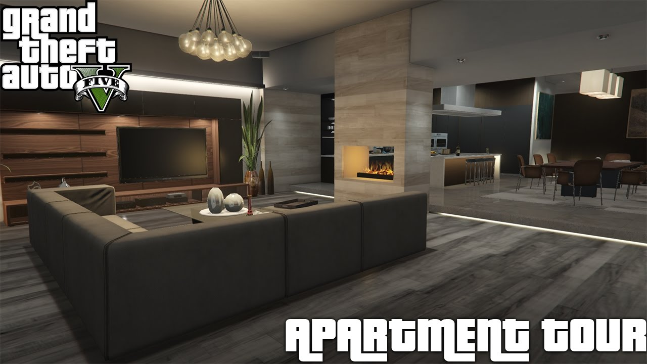 GTA V Online | $900,000 Eclipse Towers | Penthouse 2 ...