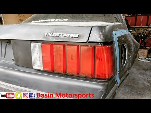 How to Restore Your Taillight Lenses and Housings | Foxbody Mustang
