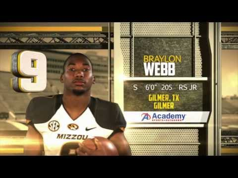 2013 Mizzou Special Forces Player of the Year: Braylon Webb