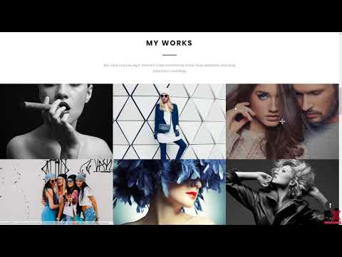 Jon Bin - Freelancer Photographer Portfolio Moto CMS 3 Template TMT Royal Terrance