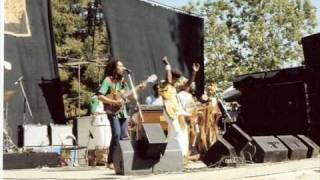 Bob Marley and The Wailers sun is shining live