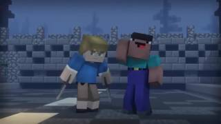 Different Heaven Nekozilla LFZ Remix Minecraft Animation