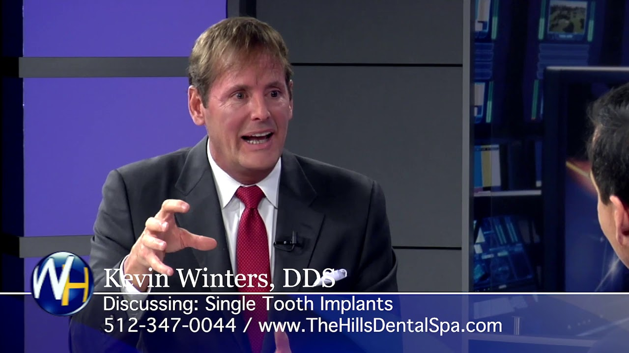 Single Tooth Implants with Austin, TX dentist, Kevin Winters, DDS