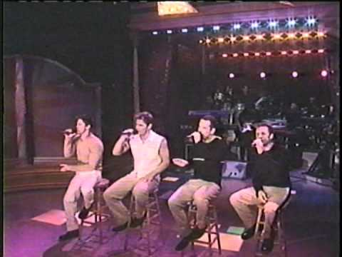 98 Degrees on Rosie *The Hardest Thing*
