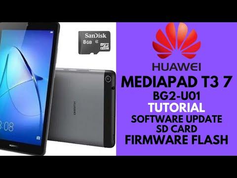 HUAWEI BG2-U01 ( MediaPad T3 7 ) SD UPDATE | FIRMWARE FLASHING_ DONE