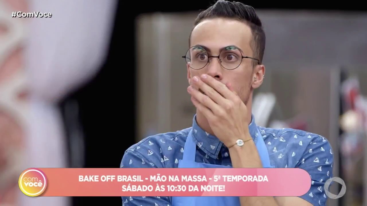 Video Bake Off Brasil Estreia No Proximo Sabado Televisao