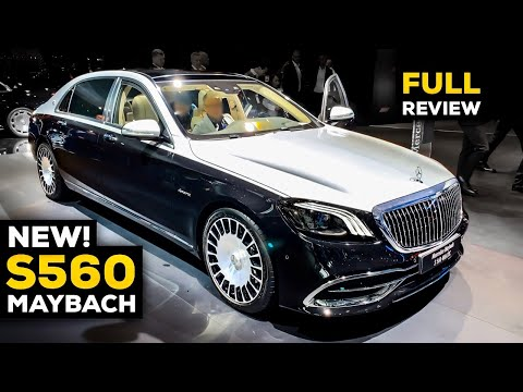 2020 MERCEDES MAYBACH S560 V8 Exclusive Two-Tone NEW FULL REVIEW Interior Exterior