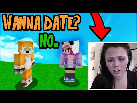USING VOICE CHANGER TO TROLL GIRL GAMER (Minecraft Trolling)