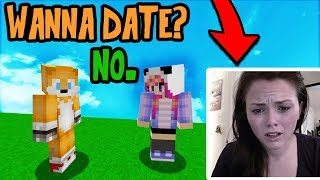 using voice changer to troll girl gamer minecraft trolling
