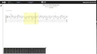 Intro Cơn Mưa Ngang Qua - Ladykillah (tab guitar Locvipvn)