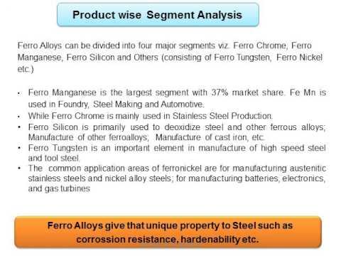 Ferro Alloy Industry in India