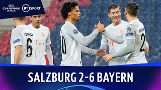 Salzburg v Bayern Munich (2-6) | Champions League Highlights