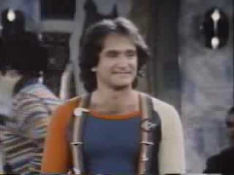 David Letterman in a rare acting role on Mork & Mindy