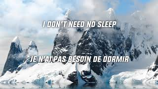 Martin Garrix feat. Bonn - No Sleep (Lyrics) [EN-FR]