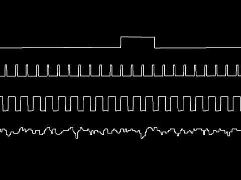 C64 Wally Beben's Tetris music oscilloscope view
