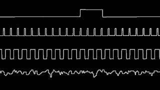 C64 Wally Beben 39 s Tetris music oscilloscope view