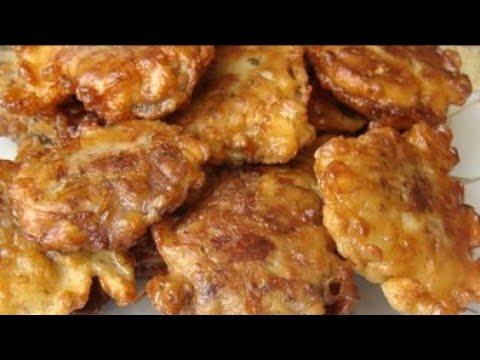 Печень куриная. Очень вкусная печень в кляре.
